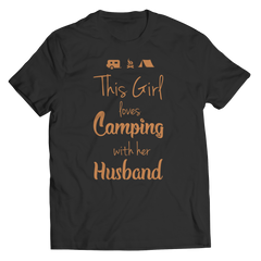 Camping With Her Husband