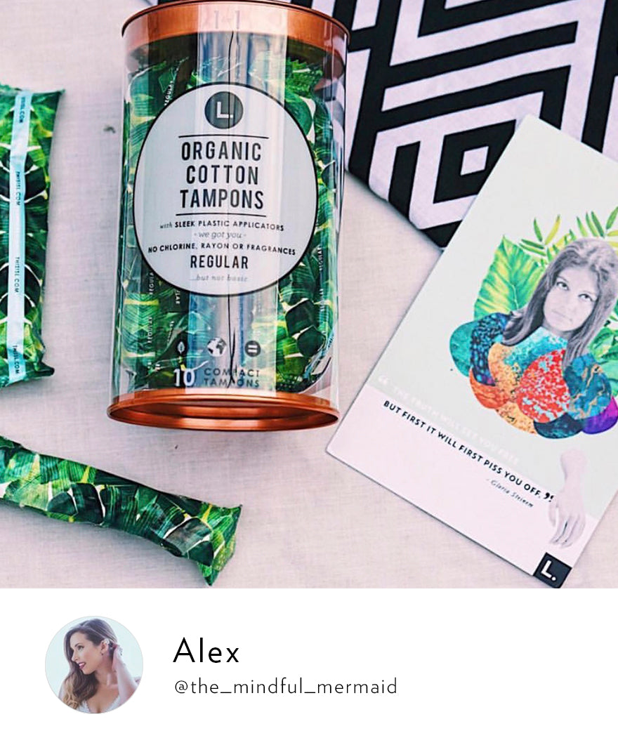 L    Award-winning personal care products made with organic