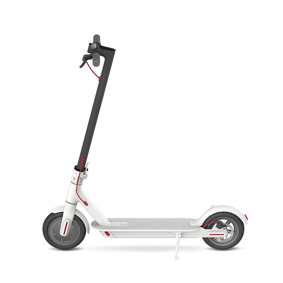 The #1 Smart Folding Electric Scooter in Black & White