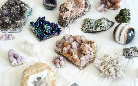 astral collective, geodes, crystals, healing, spirituality, wellness
