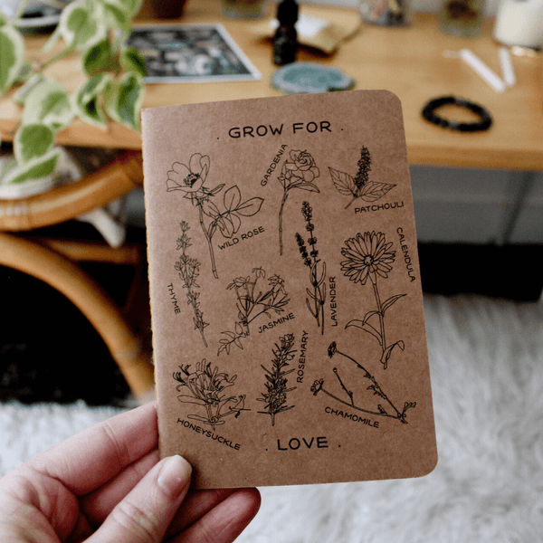 'Grow For Love' Notebook