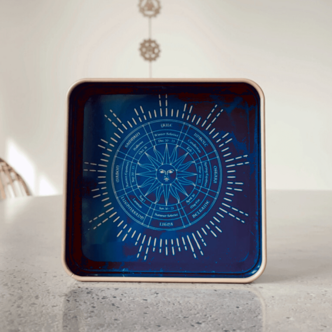 Solstice Calendar Catchall Tray