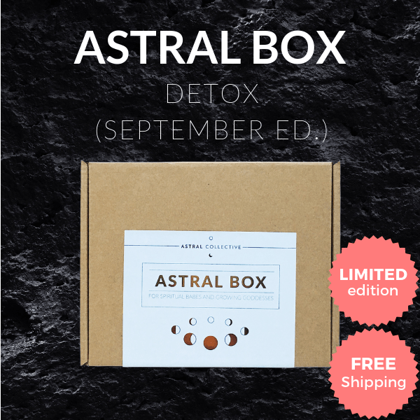 SEPTEMBER Detox Box [Limited Edition]