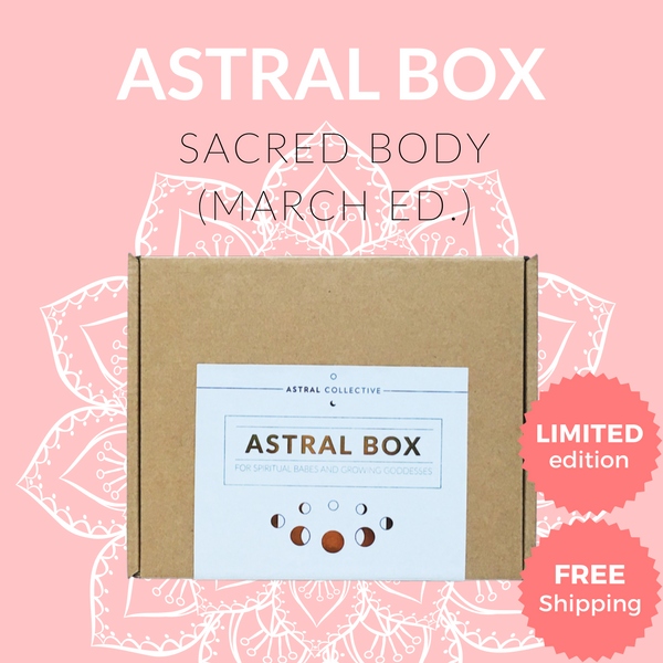 March Sacred Body Box [Limited Edition]