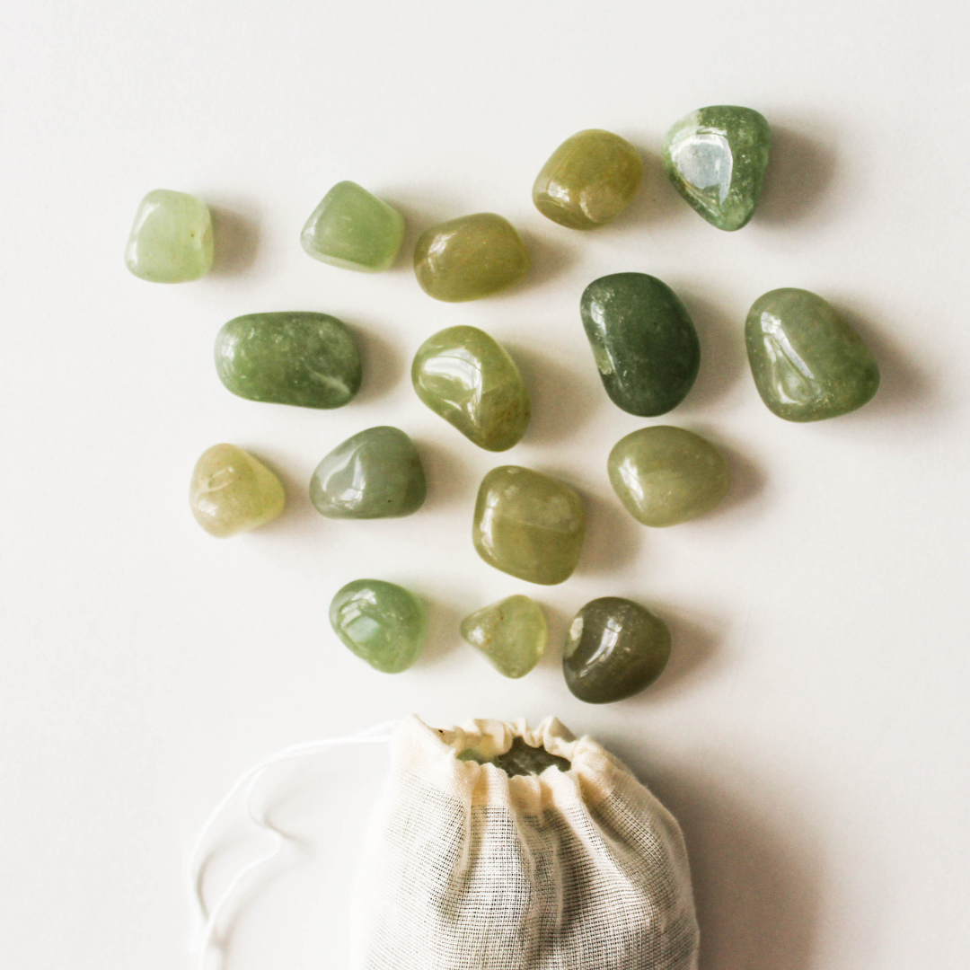 Tumbled Green Aventurine Gemstone