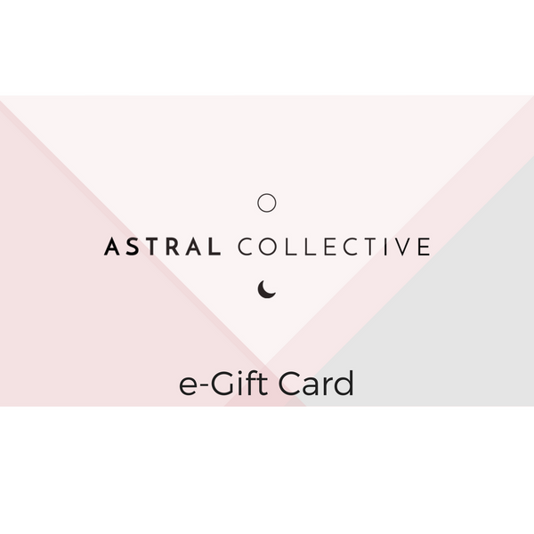 Astral e-Gift Card $20-$150 - Zen Activated Charcoal