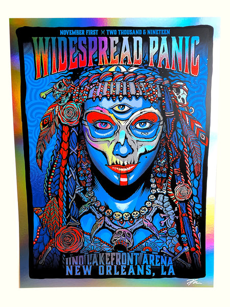 Widespread Panic 11.01 - Rainbow Edition #/35