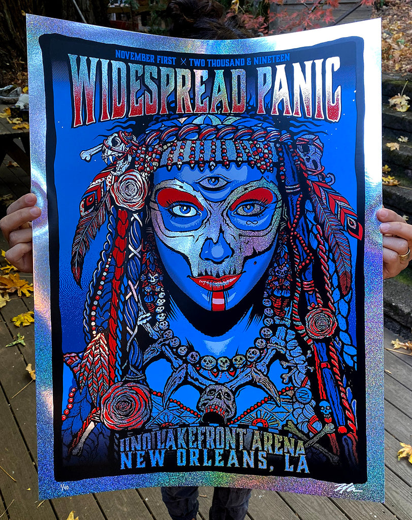 Widespread Panic 11.01 - Sparkle Edition #/40