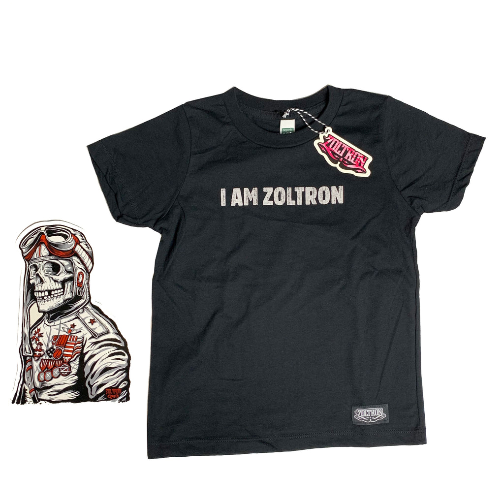 I AM ZOLTRON (Organic Cotton Kid's Shirts)