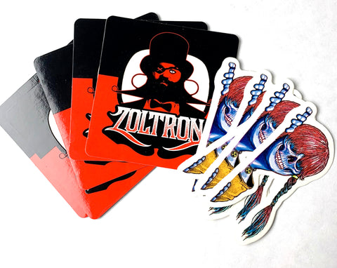 10 Sue Nami x Eyepatch  Zoltron Stickers