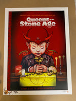 Queens of the Stone Age - Doodled Artist Proof