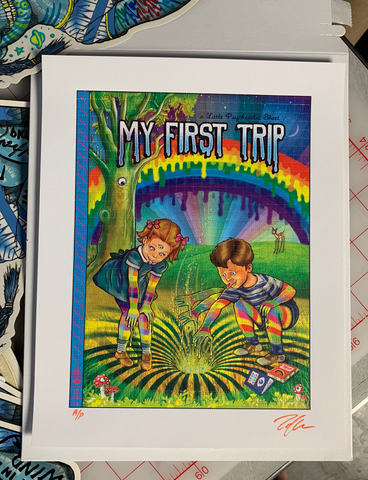 My First Trip Blotter - Artist Proof