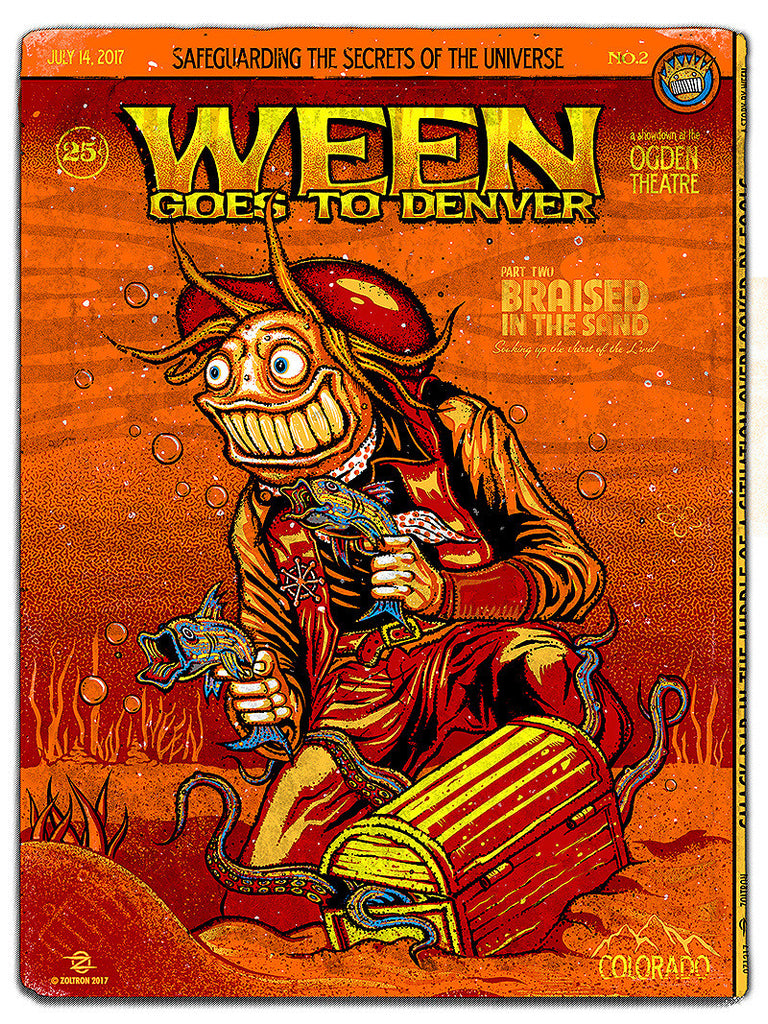 Ween Goes to Denver -  Night Two Artist Proof