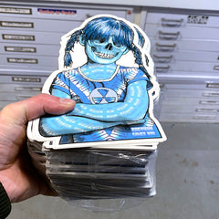 (2) Sue Nami Massive Stickers