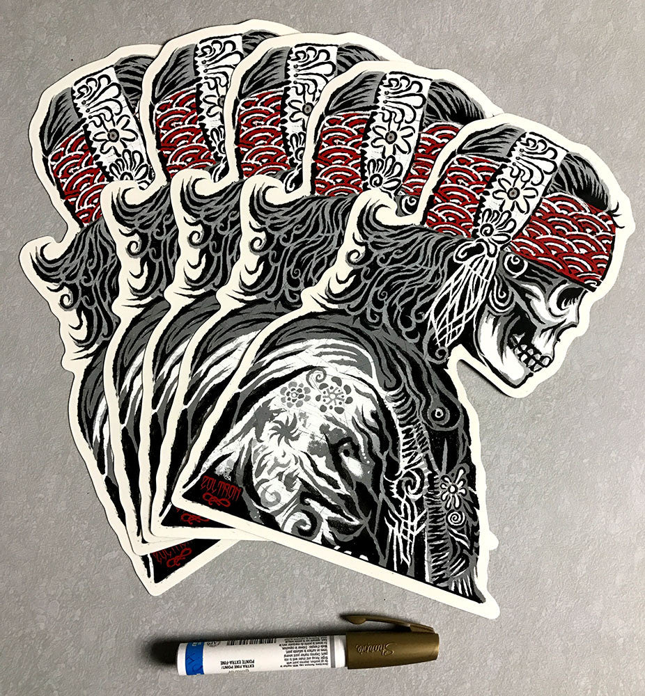 Zoltron (BIG) GYPSY Sticker
