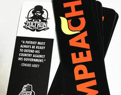 (10) Impeach Trump Stickers