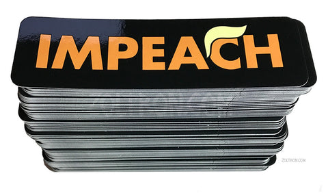 Impeach Trump Stickers