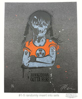 Sue Nami: Armageddon (Handbill Set of 4)