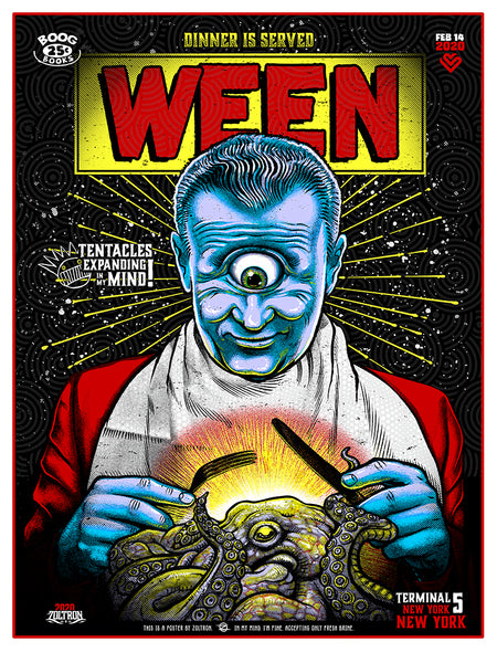 Ween at Terminal 5 NYC -  Night One