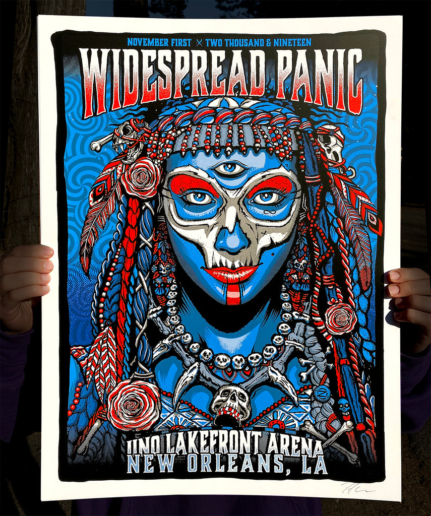 Widespread Panic 11.01 - Artist Edition #/100