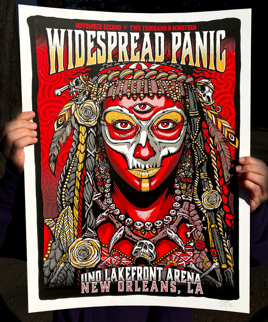 Widespread Panic 11.02 - Artist Edition #/100