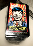 (10) Old School Zoltron Business Man Stickers