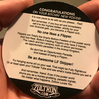 Zoltron's Don't be a Flipper® Sticker