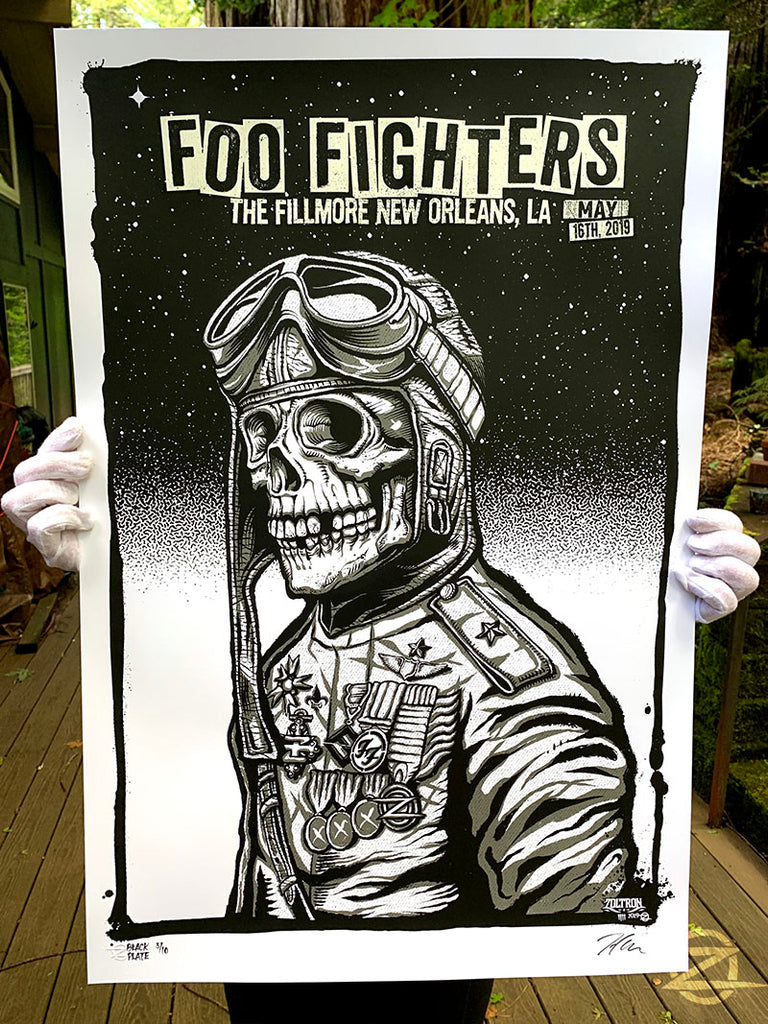 Foo Fighters, New Orleans 2019 - Black Plate Edition