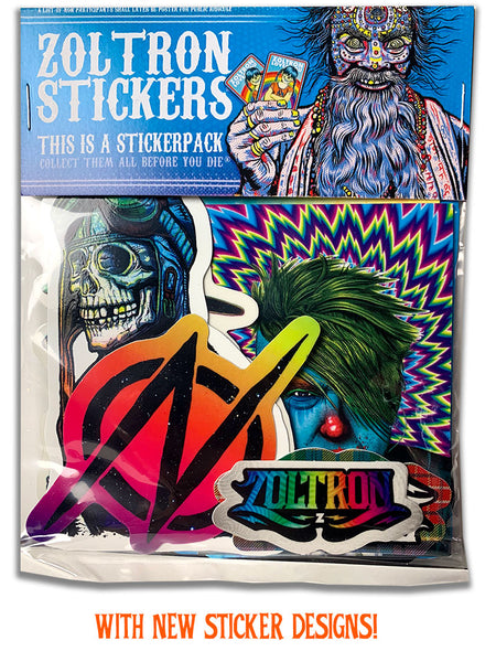 New & Improved! 2019 Zoltron Sticker Pack™