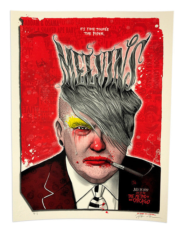Melvins Variant #6 (edition of 5)