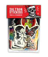 New & Un-improved! Zoltron Sticker Packs™
