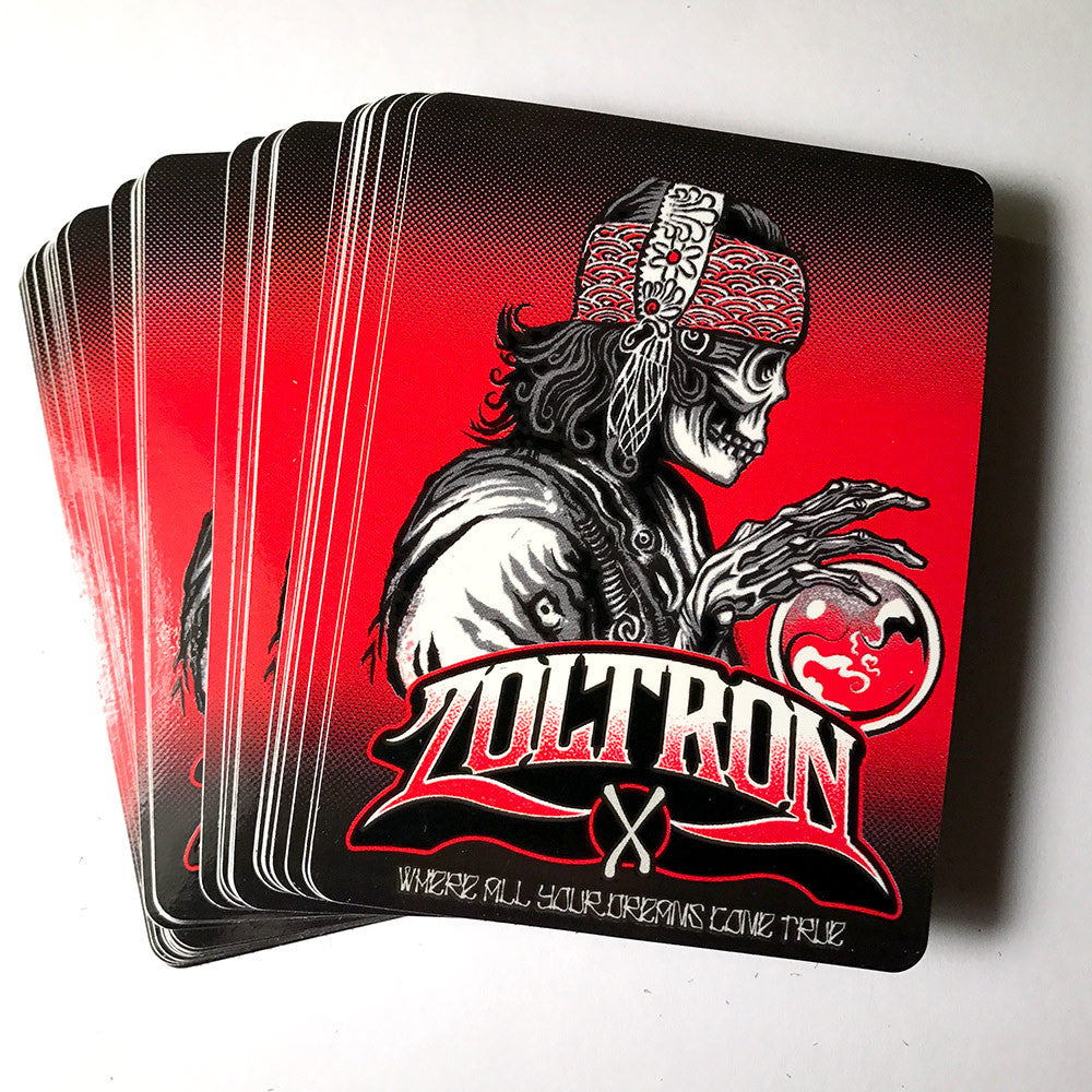 (15) Zoltron Gypsy Stickers