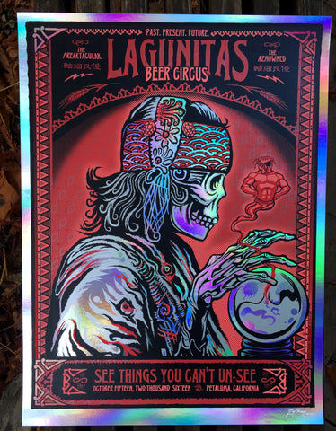 Lagunitas Circus Print - Fortune Foil Edition of #/35