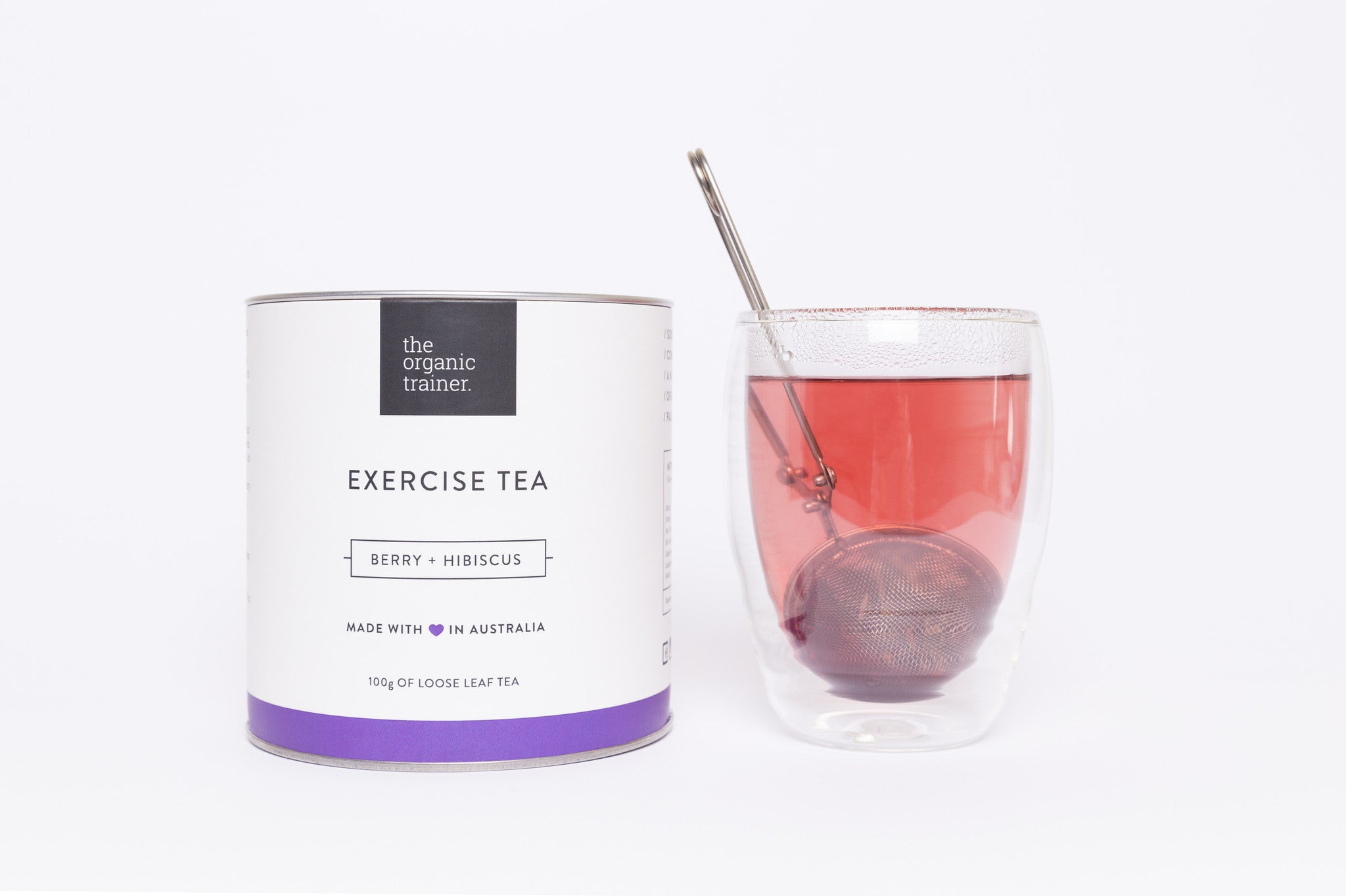 The Organic Trainer Exercise Tea
