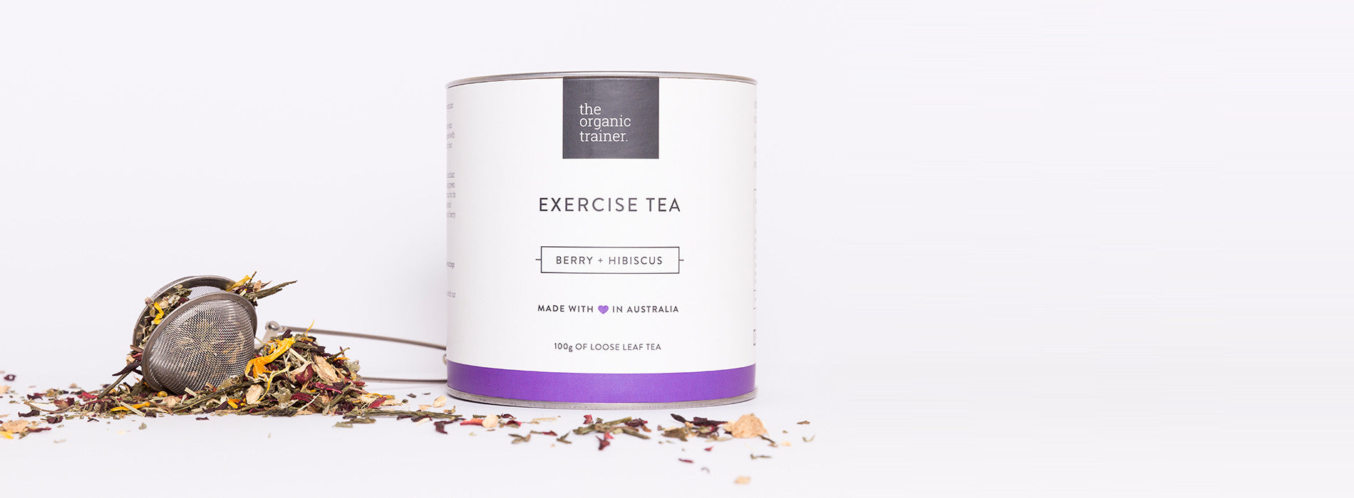 The Organic Trainer - Exercise Tea