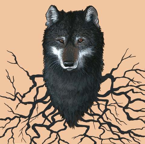 Wolf Roots by artist Lena Sayadian