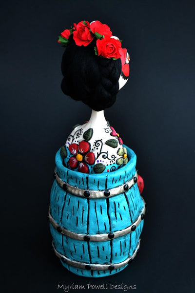 #9 EL BARRIL (The Barrel) by artist Myriam Powell