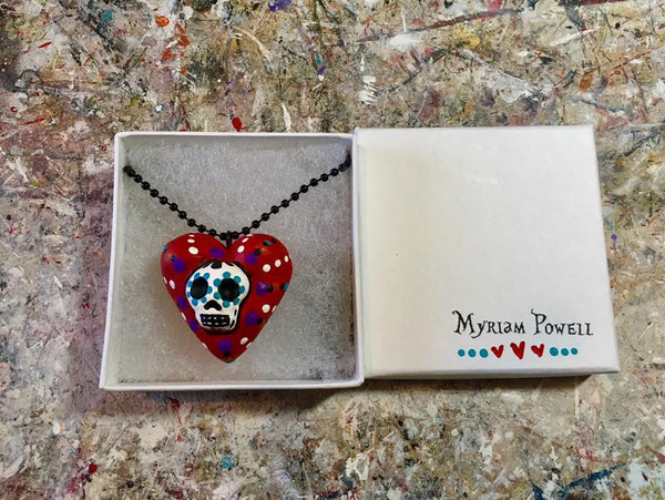 EL CORAZON (The Heart) Pendant by artist Myriam Powell