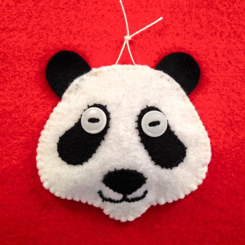 PANDA MASK by artist Ulla Anobile