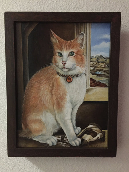 DURER'S CAT by artist Annette Hassell