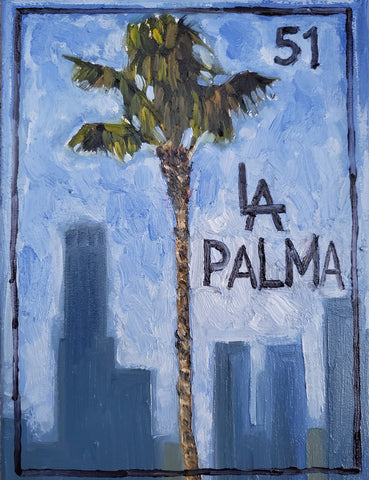 LA PALMA (The Palm Tree) #51 by artist Ivan Godinez