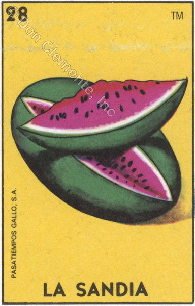 #28 LA SANDIA / Sandia Afternoon (The Watermelon) by artist Vera Paras