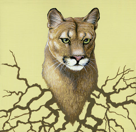 Puma Roots by artist Lena Sayadian