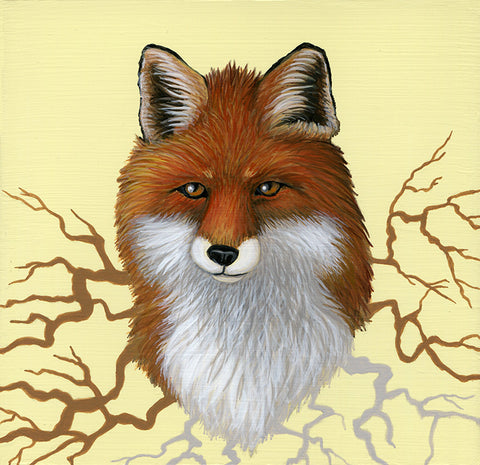 Fox Roots by artist Lena Sayadian