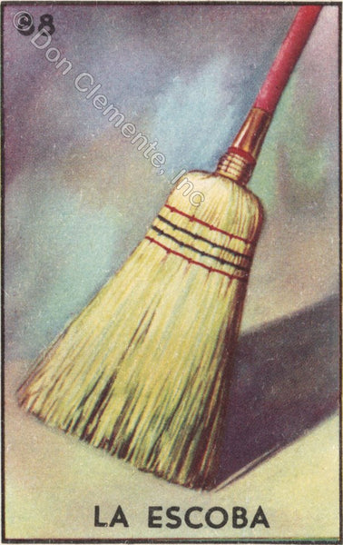 #88 LA ESCOBA (The Broom) by artist Jaclyn Evalds
