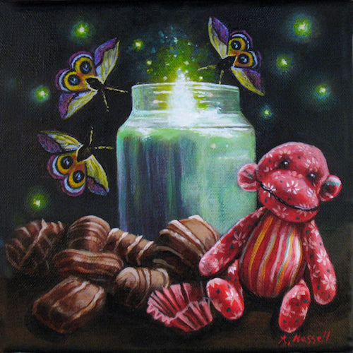 THE GIFT by artist Annette Hassell