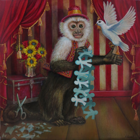 A MAGICIAN by artist Annette Hassell