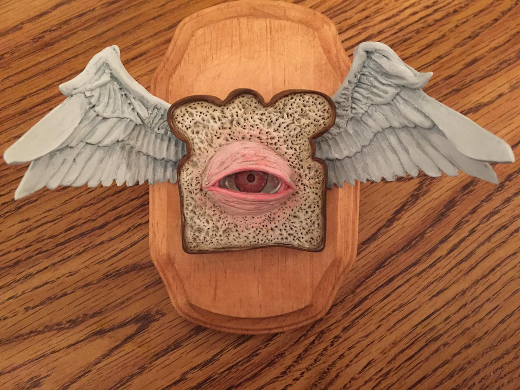 Angel Toast Albino by artist Joe Vollan