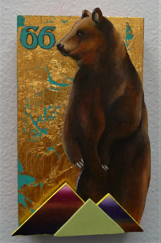 EL OSO (The Bear) #66 by artist Sarah Polzin