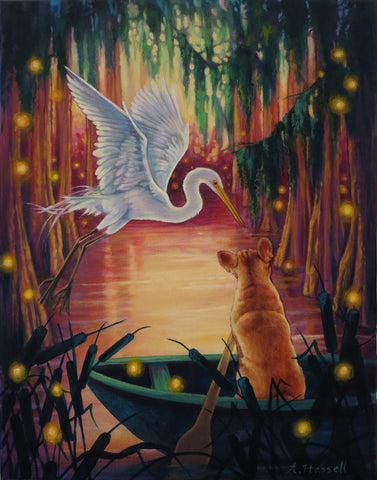 BAYOU REVERIE by artist Annette Hassell